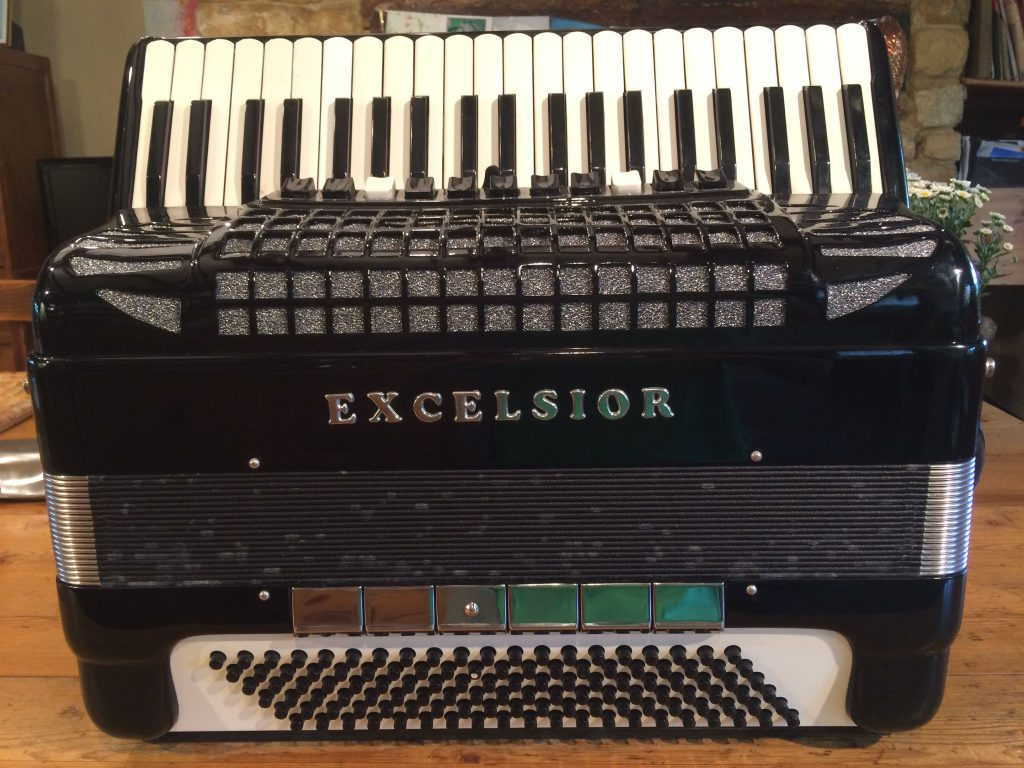 Excelsior 120 Bass Accordion